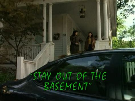 Stay Out Of The Basement (tv Episode)