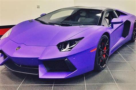 Rapper Tyga Now Has Matte Purple Lamborghini Aventador