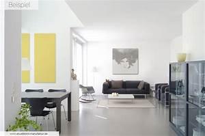 Schallschutz Decke Abhängen : akustikbilder beispiele startseite die akustikbild manufaktur ~ Frokenaadalensverden.com Haus und Dekorationen