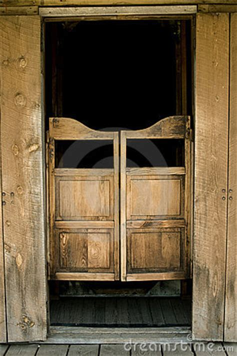 saloon doors royalty  stock image image