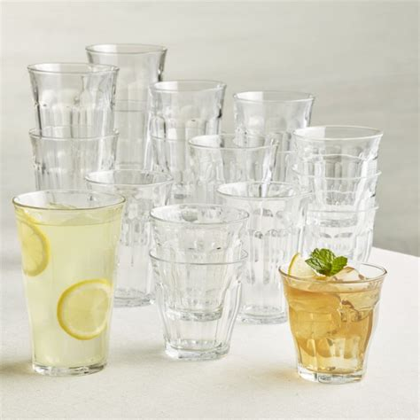 kitchen islands cabinets duralex picardie glass tumblers set of 18 crate and barrel
