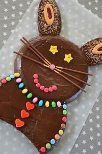 Recette De Gateau Pour Enfant : g teau lapin au chocolat recette enfant chocolat recettes pinterest recette enfant le ~ Melissatoandfro.com Idées de Décoration