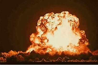 Explosion Gifs Nucleaire Champignon Animes Atomique