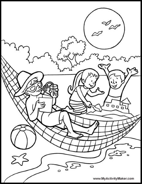 spiaggia disegni estate colorati disegni da stare e colorare estate principesse