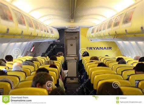siege avion ryanair à l 39 intérieur de de l 39 avion de ryanair photographie
