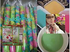 Cara Mudah Buat Aiskrim Malaysia Paddle Pop Sedap, Guna