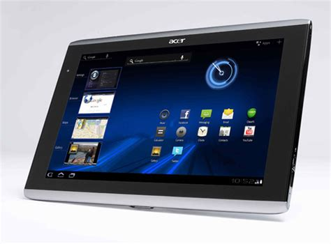 how much the tablet acer 39 s iconia tablet rivals in price but not much else