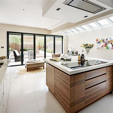 ideas for kitchen extensions walnut veneer kitchen extension kitchen extension design
