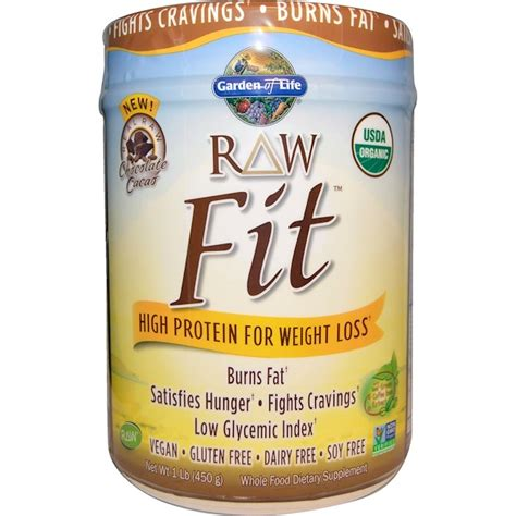 garden of fit garden of organic fit high protein for weight