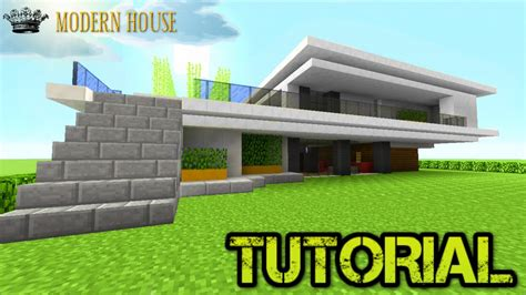 minecraft house tutorial step  step pictures modern house