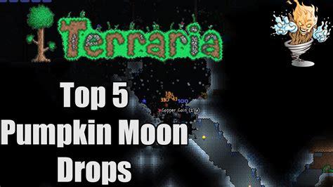 Terraria Pumpkin Moon Medallion Recipe by Terraria Top 5 Pumpkin Moon Drops Terraria Countdown