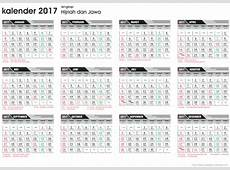 Template Kalender 2017
