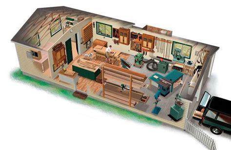 ultimate woodshop garage  carport plans  family home plans cottage boat house