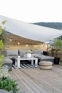 Comment Aménager Une Terrasse Extérieure : sch ne terrasse einrichten 100 tolle ideen ~ Melissatoandfro.com Idées de Décoration