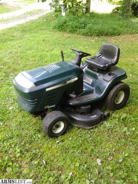 used mower deck for craftsman armslist for sale craftsman mower 21 hp 42 quot deck
