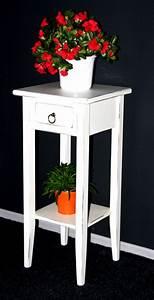 Beistelltisch Weiß Vintage : massivholz beistelltisch blumentisch blumenhocker 70 holz massiv wei vintage ~ Yasmunasinghe.com Haus und Dekorationen