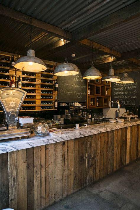 Chalkboard Ideas For Kitchen - barras de bar de estilo vintage decorar net