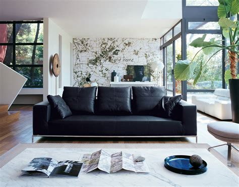 living room decor with leather sofa 35 best sofa beds design ideas in uk