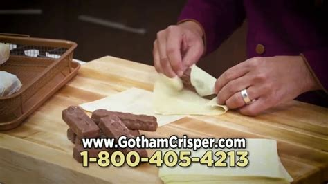 gotham steel crisper tray tv commercial oven fried foods ispottv