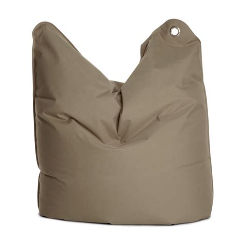 medium bull grey brown bean bag chair by sitting bull