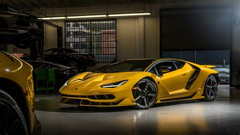 Wallpaper Lamborghini Centenario Coupe, Hd, 4k, Automotive