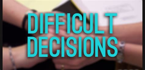 Difficult Decision by Opportunities And Difficult Decisions Wheless Ln