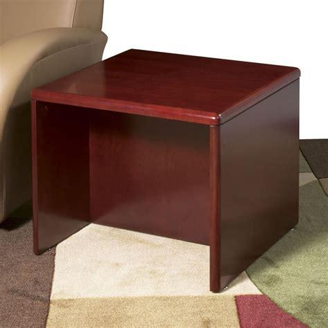 dark cherry wood end tables end table 24x24x20 dark cherry wood