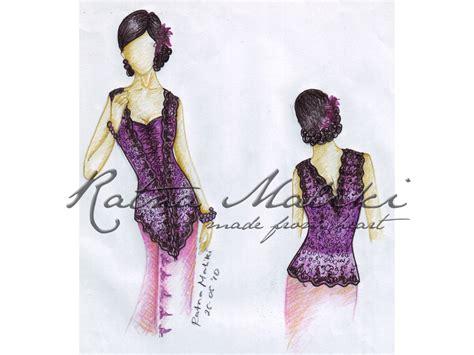 20 contoh model baju contoh desain sketsa kebaya fashion busana adat