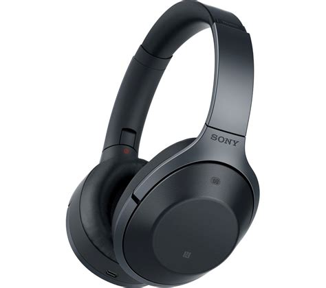 sony mdr 1000x wireless bluetooth noise cancelling headphones black deals pc world