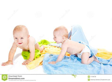 Babies Crawling Stock Photo Image 11798730