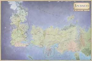 The Lands of Ice and Fire - the maps of Game of Thrones ...