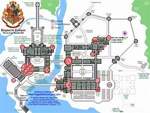 hogwarts maps and castles on pinterest With map of hogwarts castle all floors
