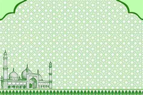 koleksi gambar undangan pernikahan islami terkini