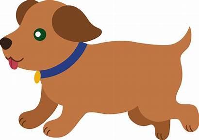 Puppy Brown Running Clip Sweetclipart
