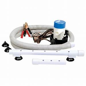 Portable Livewell Aeration Pump System Kit For Boats