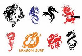 Dragon Element Symbols...
