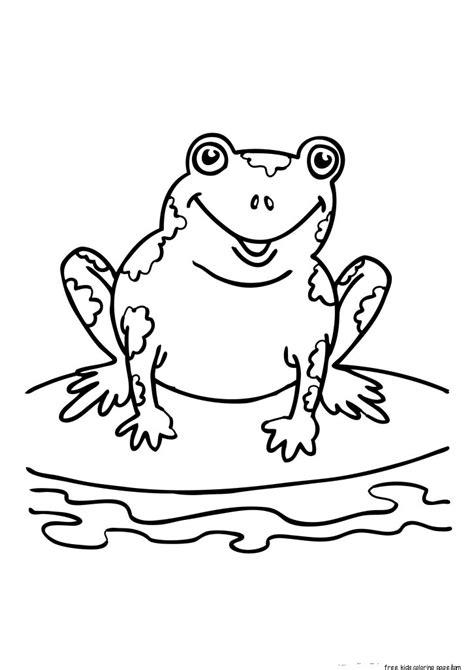 printable coloring sheets  frogs  kidsfree printable coloring pages  kids