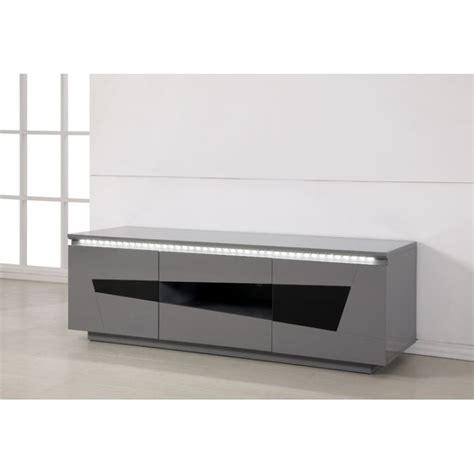 meuble tv gris meuble tv bas laque gris