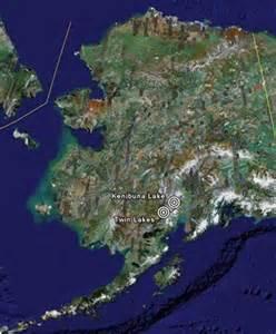 Twin Lakes Alaska Map