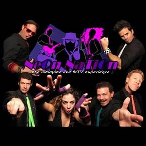 Neon Nation The Ultimate Live 80s Experience 80s Band