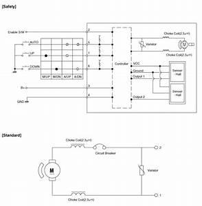 Kia Sportage - Power Window Motor Schematic Diagrams