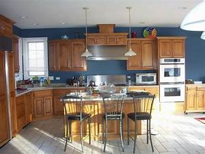 Kitchen paint colors with wood cabinets kitchen paint for Kitchen color ideas with wood cabinets
