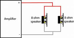 how to connect 2 speakers to 1 amplifier geoff the grey geek With dual 4 ohm sub wiring on 2 channel amp kicker wiring diagram