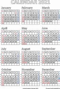 November 2020 Calendar With Holidays Calendar 2021 United Kingdom Pdf Free Printable Pdf