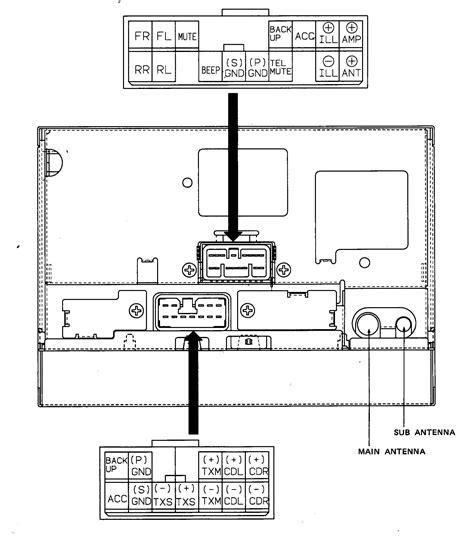 Car Audio Wire Diagram Codes Lexus Factory Stereo