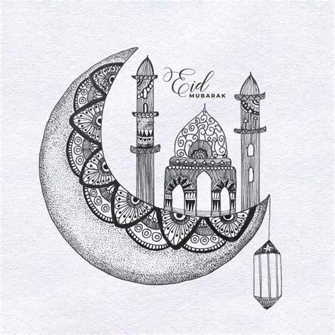 eid mubarak mandala   mandala art lesson islamic