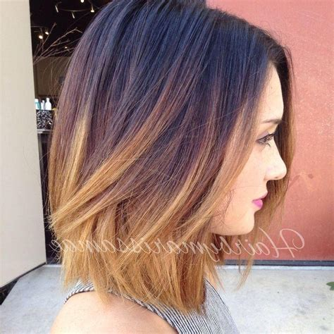 2019 Popular Short Colored Bob Hairstyles