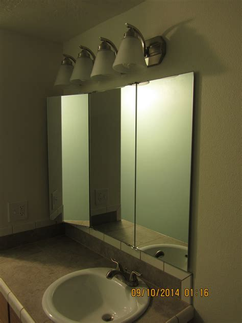 Tri Fold Bathroom Wall Mirror by Trifold Vanity And Wardrobe Mirrors