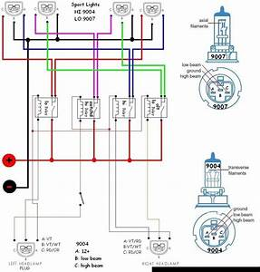 Dodge Ram 1500 Headlight Wiring Diagram