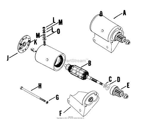 Bendix Starter Part Diagram by Kohler K241 46633 Deere 10 Hp 7 5 Kw Specs 4600
